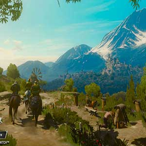 The Witcher 3 Wild Hunt Montañas