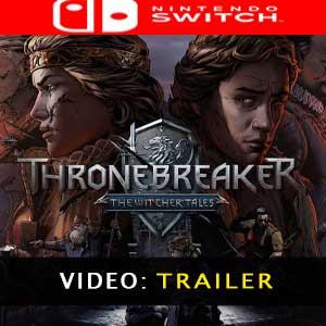 Vídeo del tráiler de Thronebreaker The Witcher Tales