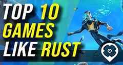 Top 10 Juegos como Rust