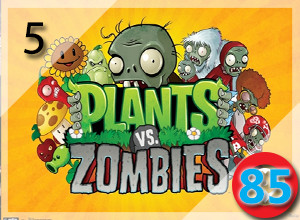Top 10 PC Zombie Games from 2009-2015: Plants vs Zombies