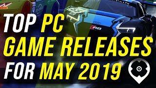 Los mejores lanzamientos de juegos de PC para mayo de 2019