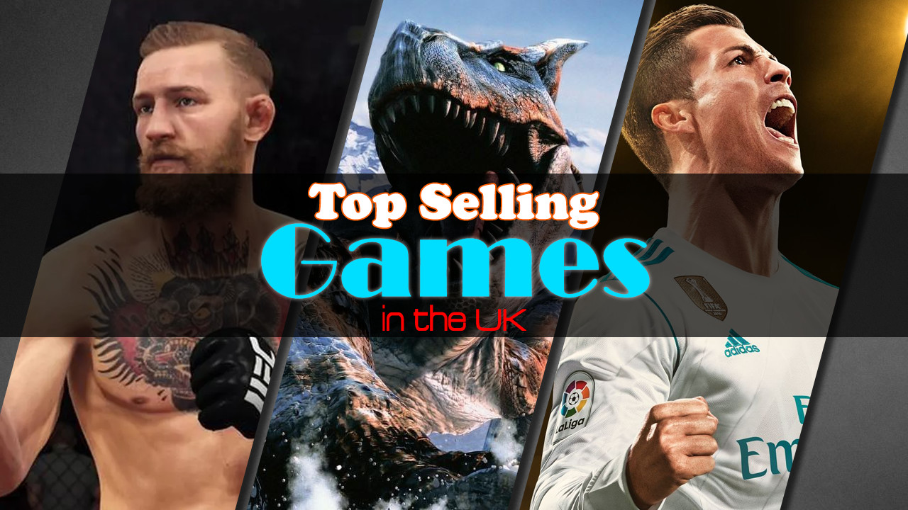 Top Selling Games in the UK