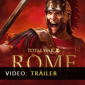 Total War ROME REMASTERED Vídeo del tráiler