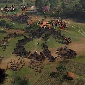 Total War THREE KINGDOMS Fates Divided Batalla