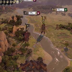 Total War THREE KINGDOMS Fates Divided Personajes