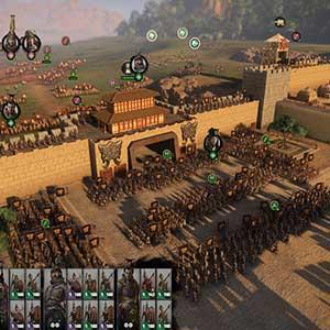 Total War THREE KINGDOMS Fates Divided Fortaleza