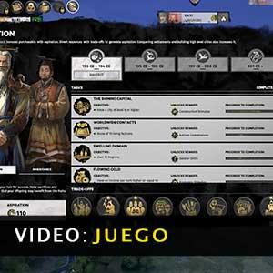 Total War THREE KINGDOMS Fates Divided Vídeo del juego