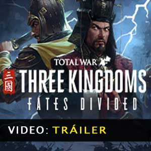 Total War THREE KINGDOMS Fates Divided Vídeo del tráiler