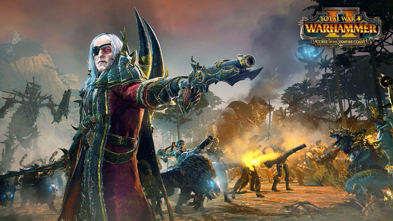 Total War Warhammer 2 Curse of the Vampire Coast