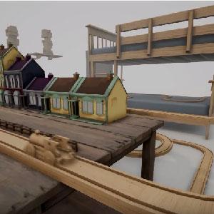 Tracks Train Set Game - Model Train