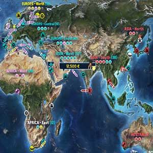 TransOcean 2 Rivals Lista de barco