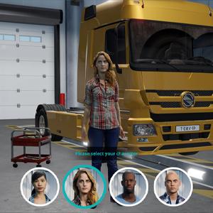 Truck Driver - Personaje