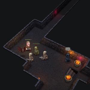 Ultimate ADOM Caverns of Chaos - Encuentro con el enemigo