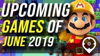 Próximos juegos de junio de 2019