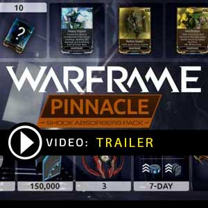 Comprar Warframe Shock Absorbers Pinnacle Pack CD Key Comparar Precios