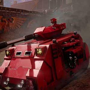 La Eterna cruzada completamente armado tanque Predator