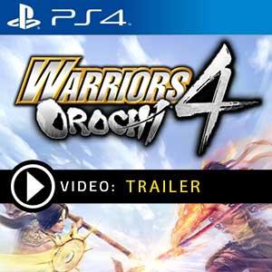 Warriors Orochi 4 PS4 Precios Digitales o Edición Física
