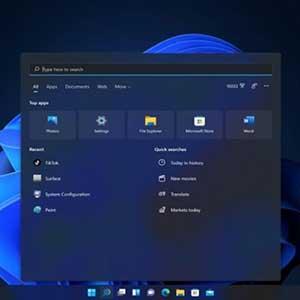 Windows 11 Pro OEM Menú De Inicio