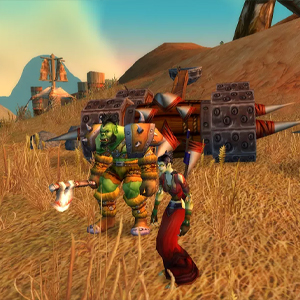 World of Warcraft - Orco y Hechicero