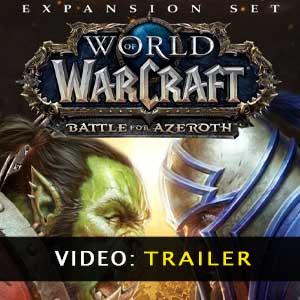WoW Battle for Azeroth Expansion video trailer