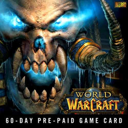 Comprar Tarjeta Prepago World of Warcraft 60 dias y comparar los precios