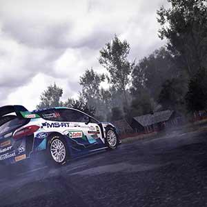 WRC 10 FIA World Rally Championship Derrape