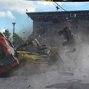 Wreckfest Apilamiento de coches