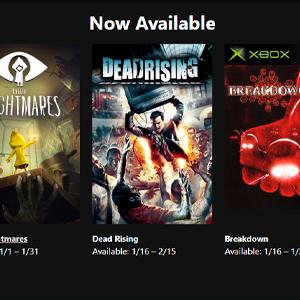 XBOX LIVE GOLD Juegos gratis