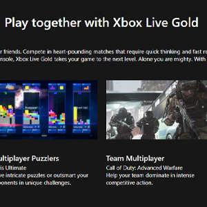 Xbox Live Gold Membership 12 Months Subscription Jugar juntos