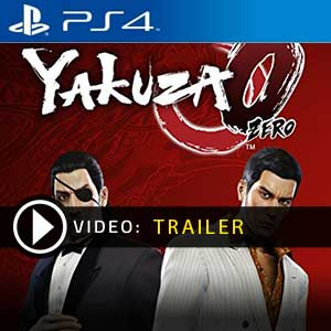 Yakuza 0 PS4 Prices Digital or Box Edition