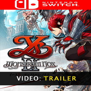 Ys IX Monstrum Nox Nintendo Switch Tráiler En Vídeo